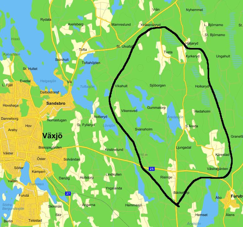 områdeskarta veff